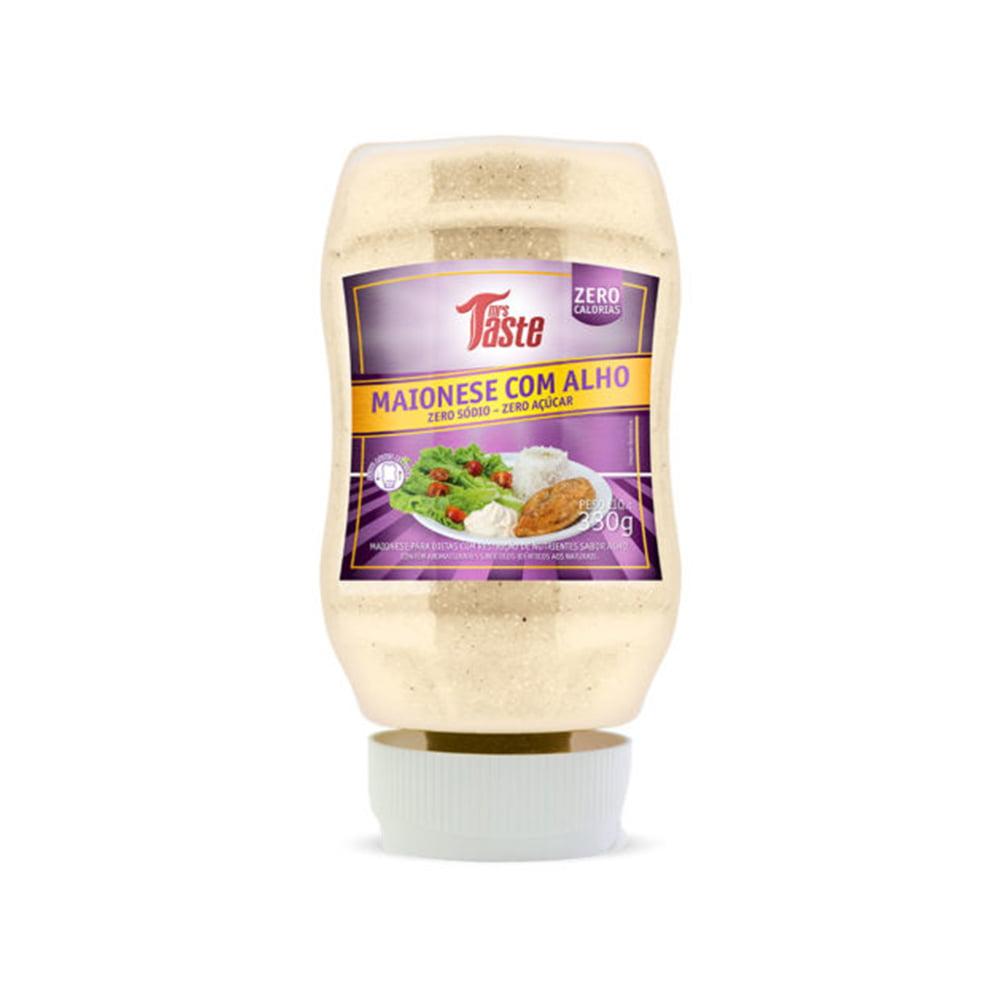maionese zero com alho mrs taste
