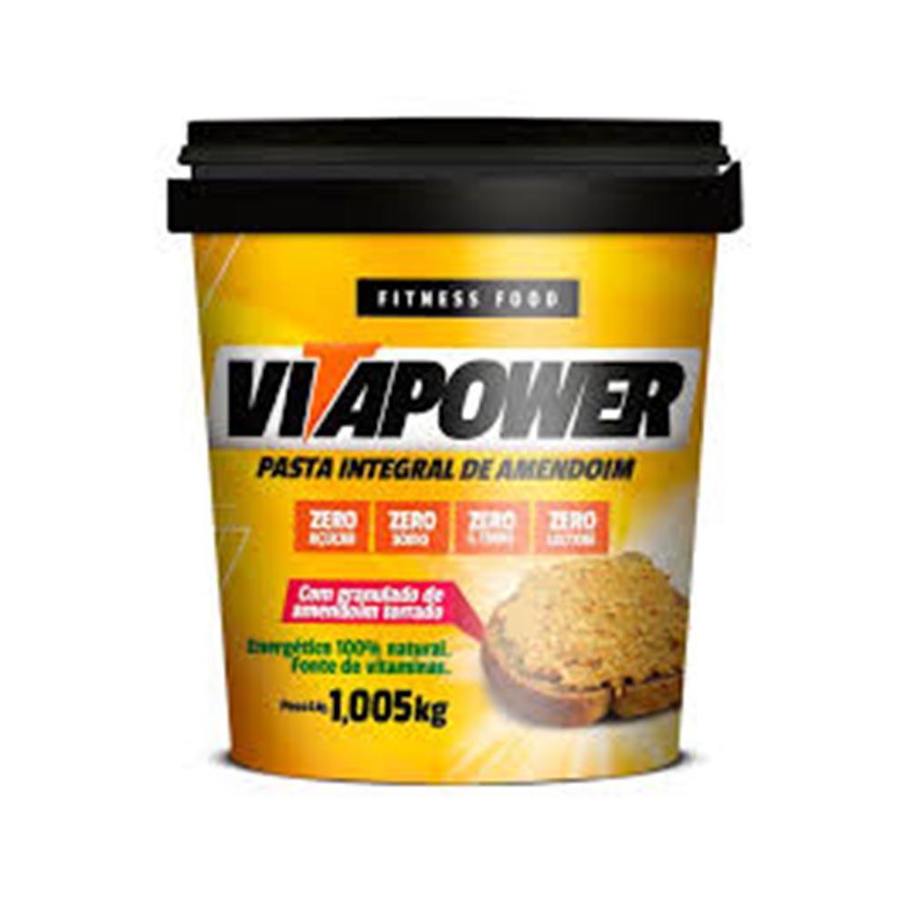pasta de amendoim 1kg crocante vitapower
