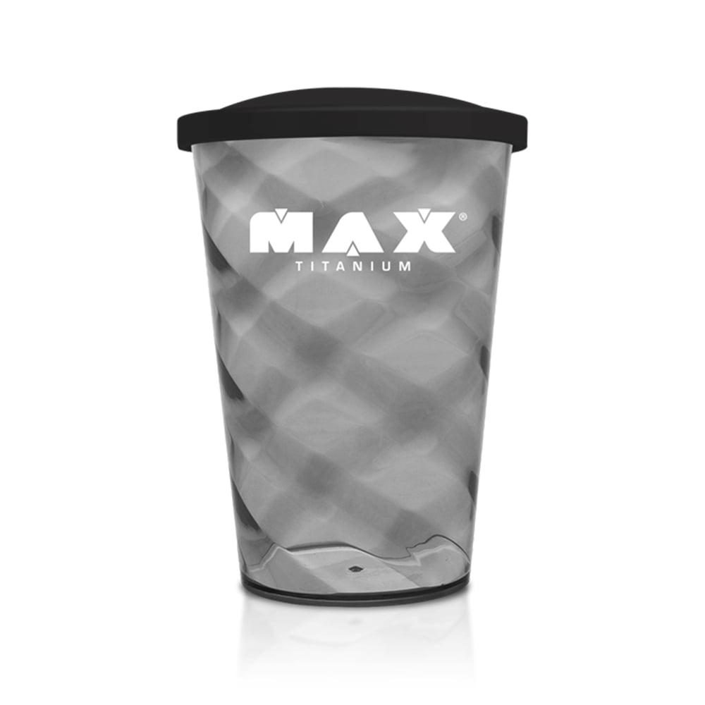 copo acrilico preto max titanium