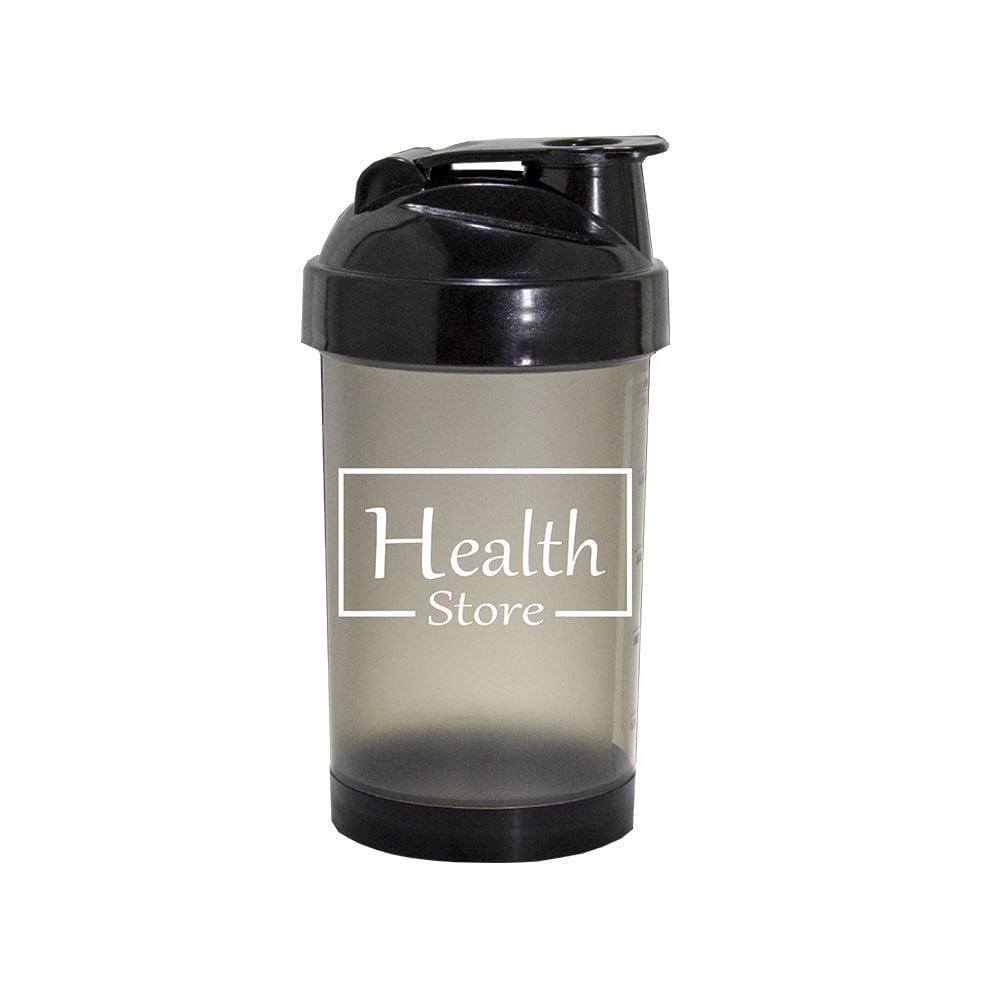 Coqueteleira 500ml preta Health Store