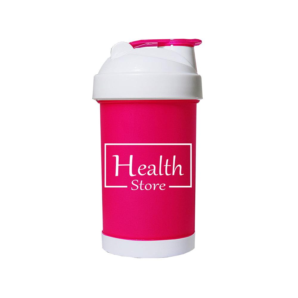 Coqueteleira 500ml Rosa Health Store