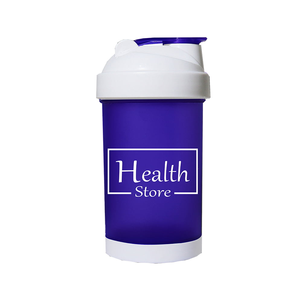 Coqueteleira 500ml Roxa Health Store