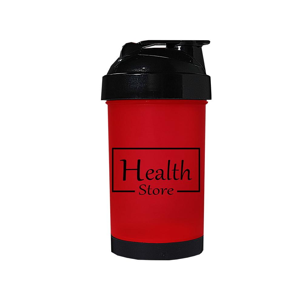 Coqueteleira 500ml Vermelha Health Store
