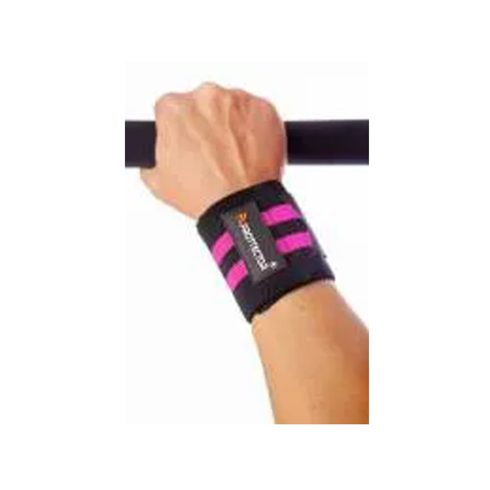 munhequeira elastica ( par ) rosa prottector