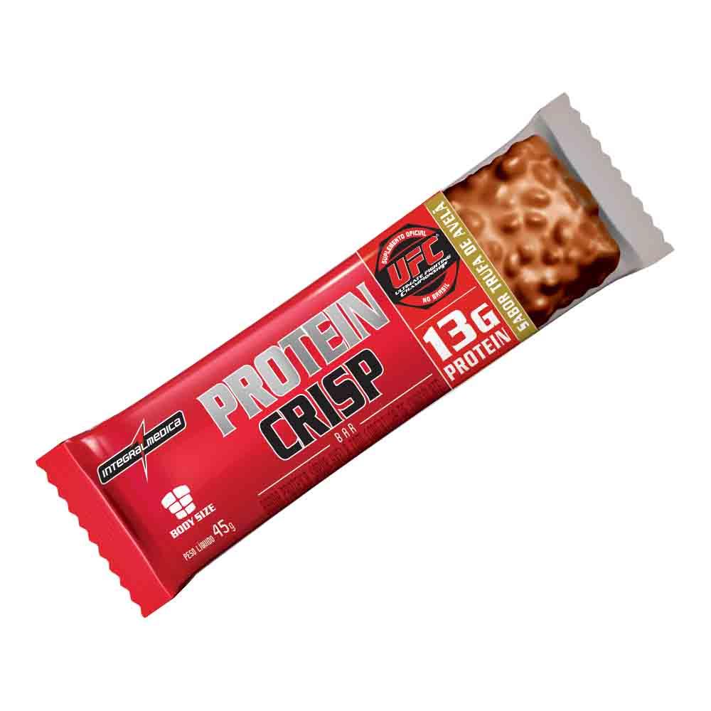 protein crisp bar 40gr unid. integralmedica