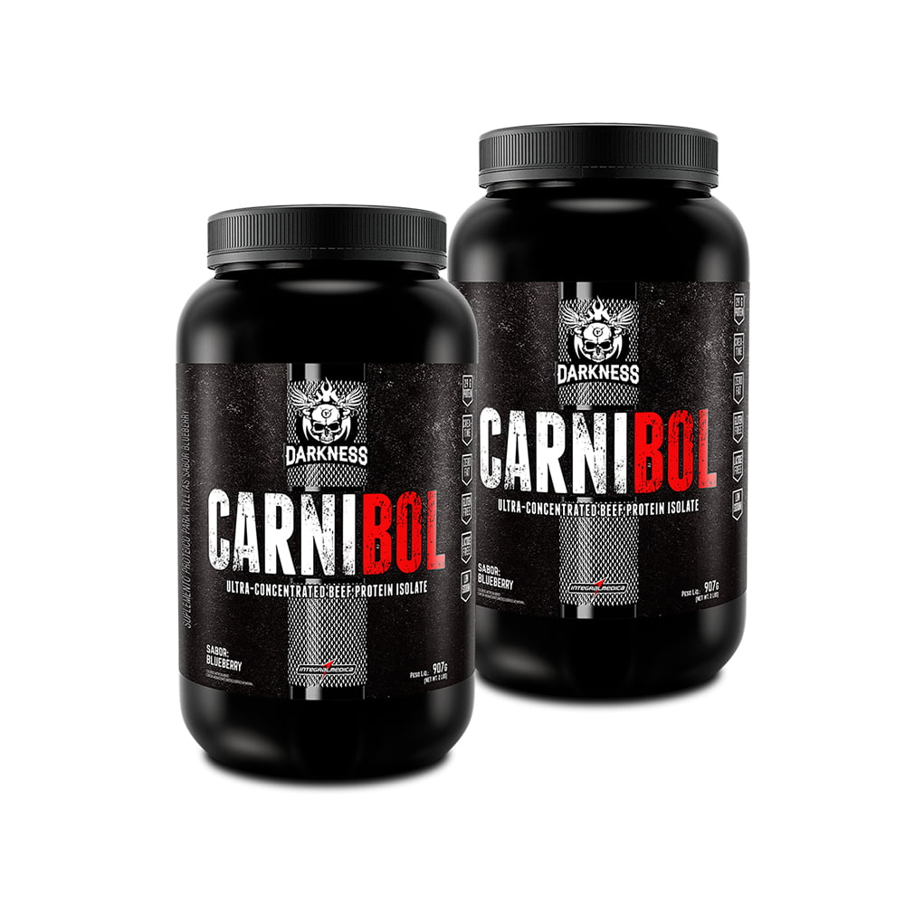 2Unid. carnibol beef protein 900gr integralmedica