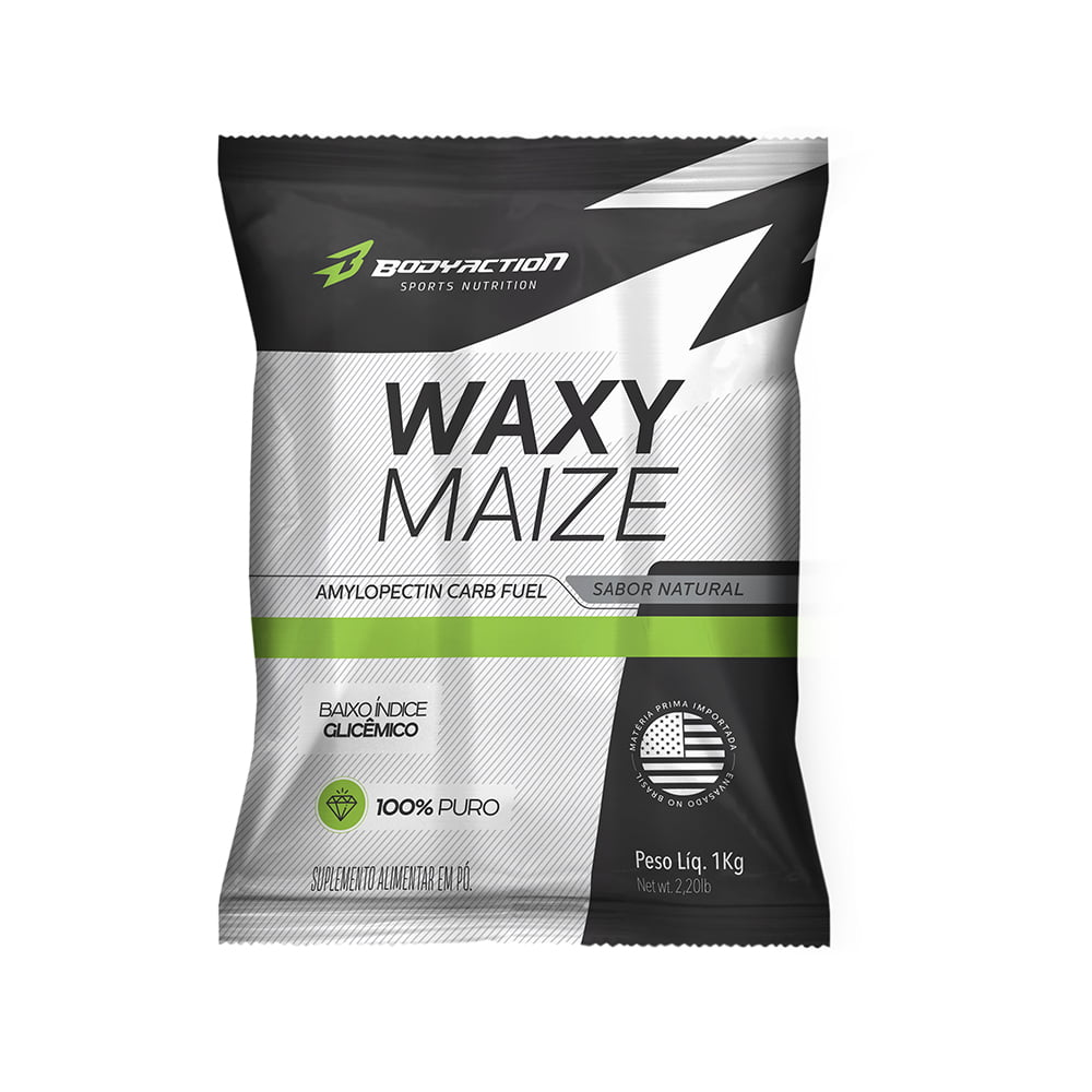 waxy maize 1kg body action
