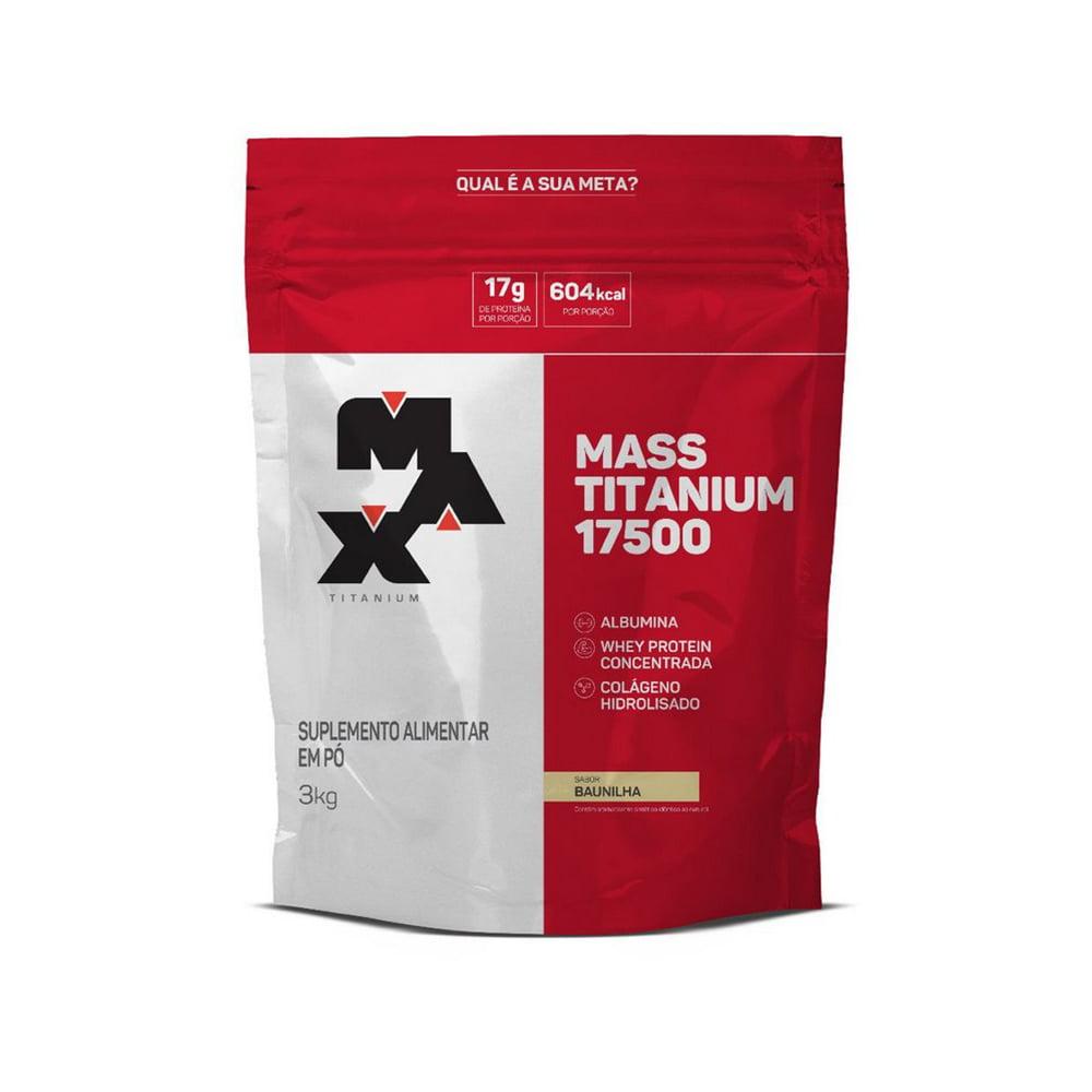 mass 17500 3kg max titanium