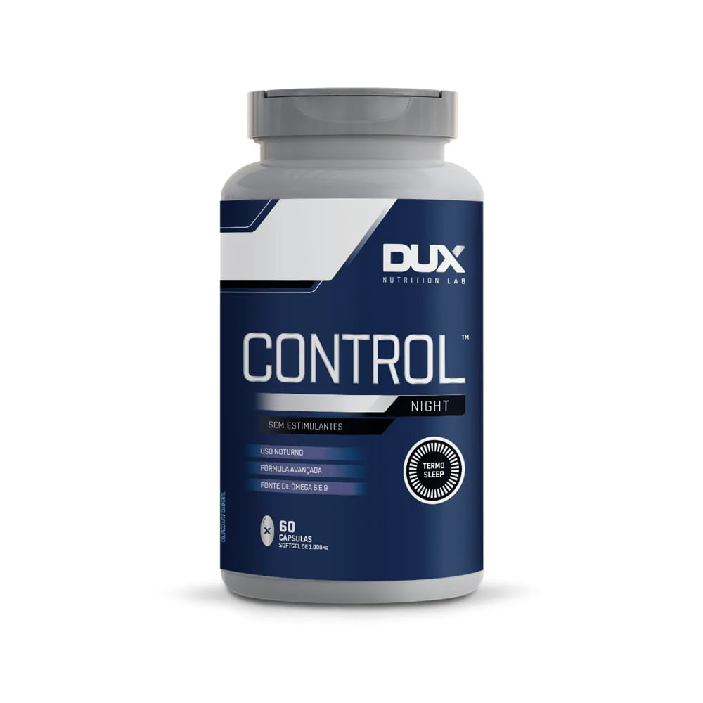 control night 60caps dux nutrition