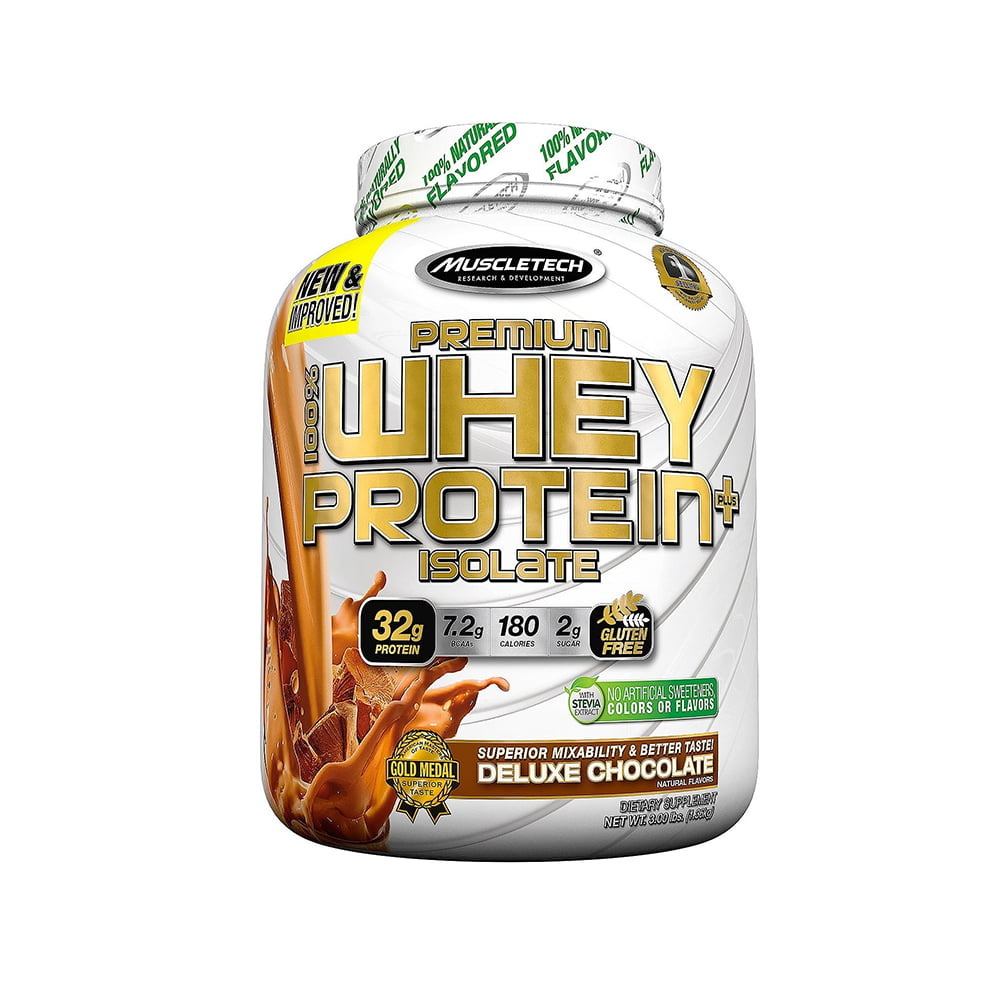 100% whey protein isolate 1,36kg muscletech