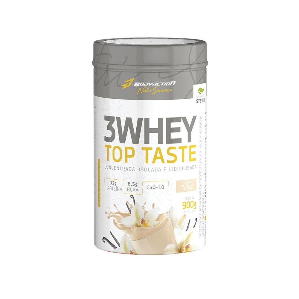 3 whey top taste 900gr Body Action