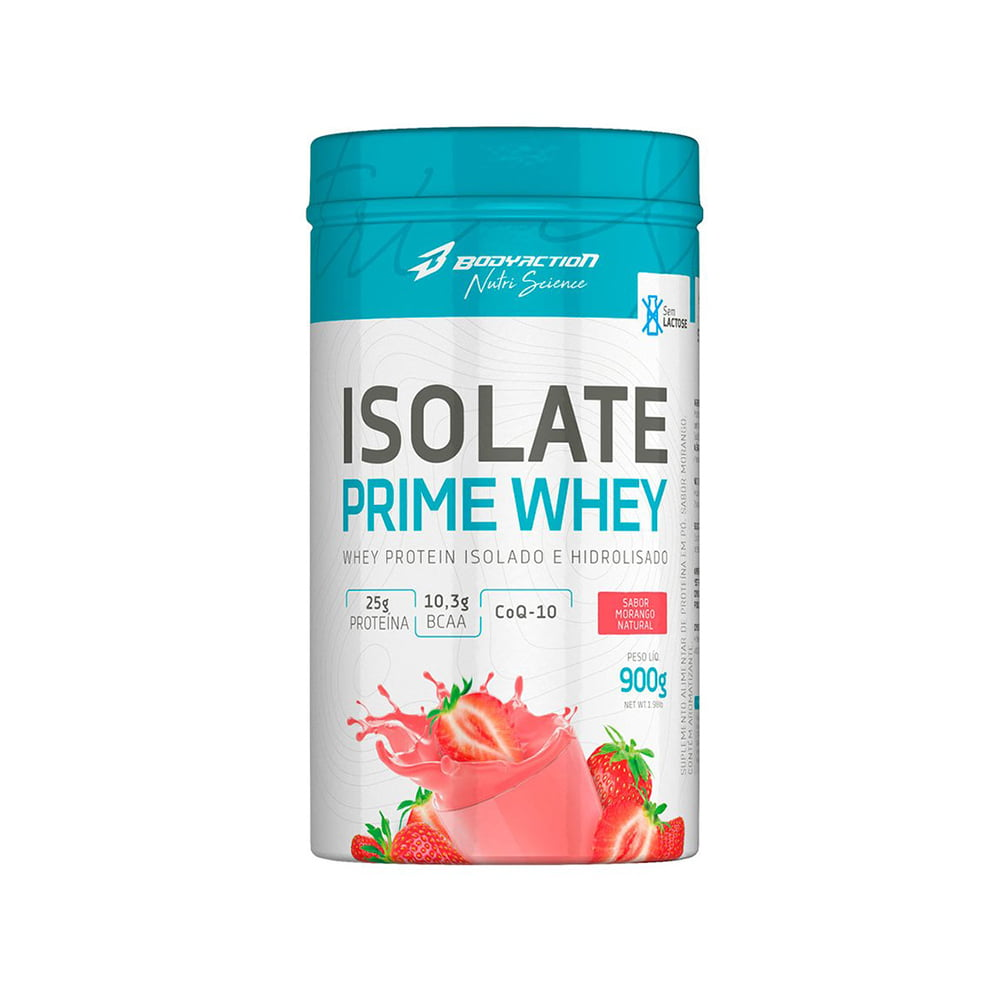 ISOLATE PRIME WHEY 900GR  BODY ACTION