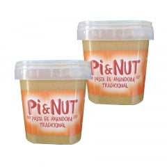 2Unid. pasta de amendoim 1kg tradicional pienut