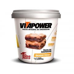 pasta de amendoim 1kg browmie crean protein vitapower
