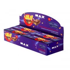 barra uau protein bar cx. 12unid. max titanium