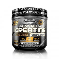 creatina platinum 400gr muscletech