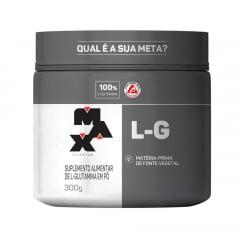 glutamina 300gr max titanium