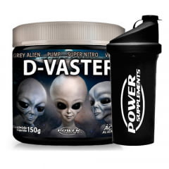 D-vaster pré-treino 150gr power supplements ( grátis coqueteleira )