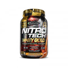 nitro tech 100% whey gold 1kg muscletech