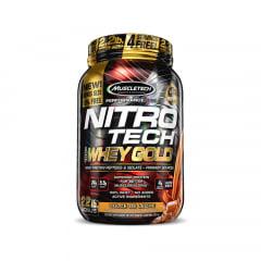 nitro tech 100% whey gold 1kg muscletech