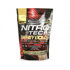 nitro tech 100% whey gold 454gr muscletech